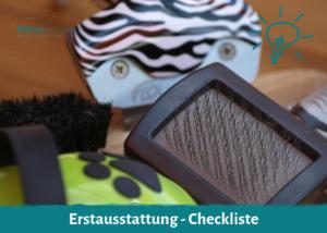Erstausstattung - Checklste